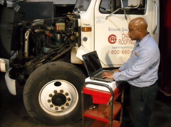 Heavy duty truck inspection, medium duty truck inspection, diesel emission inspector